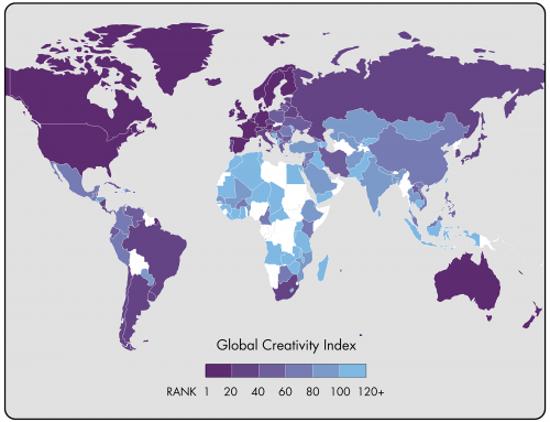 Insights from The 2015 Global Creativity Index