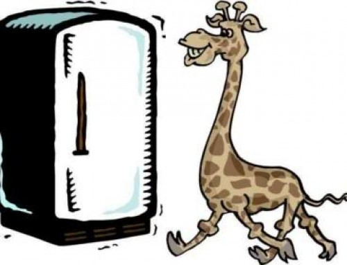 Creativity Quiz: How do you put a giraffe into a refrigerator?