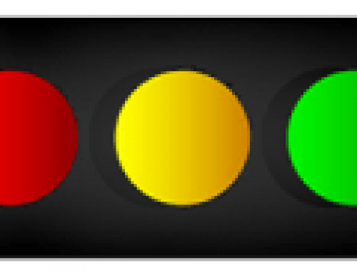Decision-making in the yellow-light zone