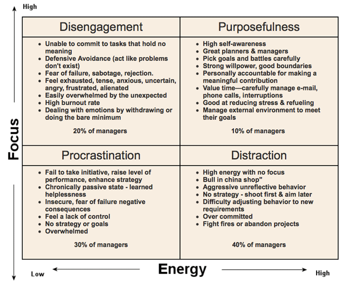 energy-focus-matrix